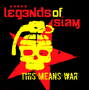 Legends of Siam This Means War CD Design